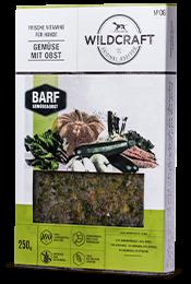 WILDCRAFT BARF Frostfutter Gemüsemix mit Obst