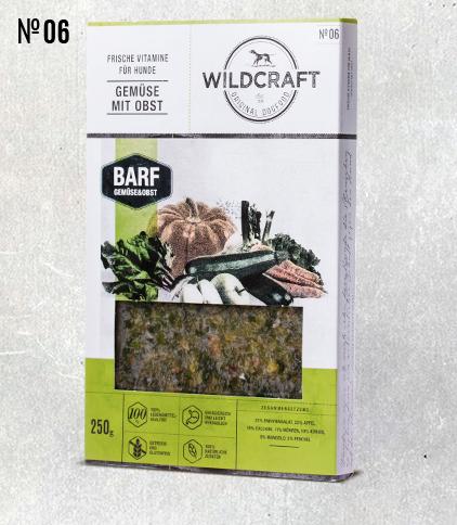 WILDCRAFT BARF hochwertiger Gemüse Mix mit Obst
