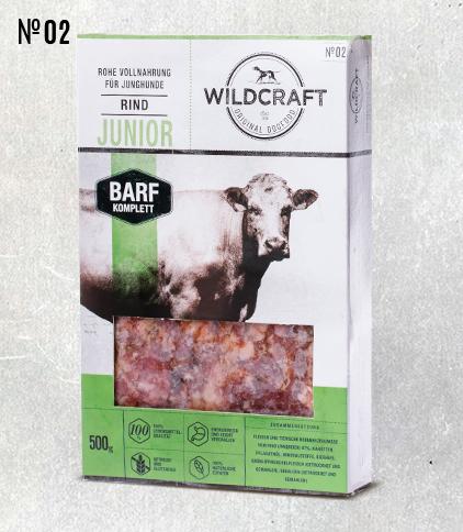 WILDCRAFT BARF hochwertiges Frostfutter Komplett Mix Junior