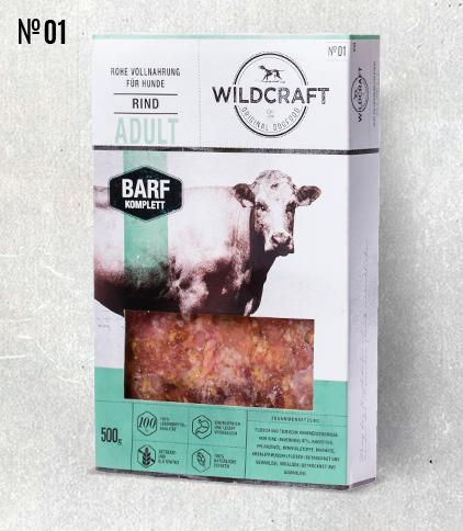WILDCRAFT BARF hochwertiges Frostfutter Komplett Mix