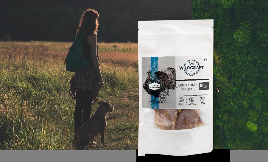 WILDCRAFT Hundesnack Faserfleisch luftgetrocknetes Muskelfleisch