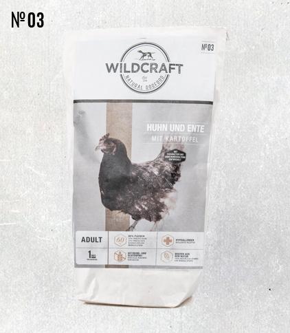 WILDCRAFT gebackenes Hundefutter mit viel Hühnerfleisch
