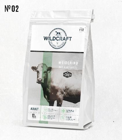 WILDCRAFT gebackenes Hundefutter mit viel Rinderfleisch